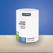 Idropittura lavabile Mano unica Blu Blu 2 - 0,75 L Luxens