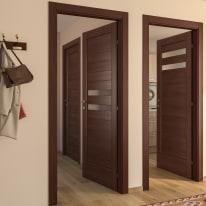 Porta da interno battente Malawi 1 80 x H 210 cm dx
