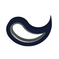 Fermaporta mobile blu