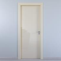 Porta da interno battente Massaua ivory avorio 60 x H 210 cm sx