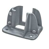 Base porta palo da avvitare Premium L 12 x H 8 cm