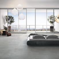 Piastrella Pietra di sale 80 x 80 cm grigio