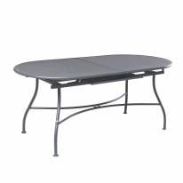 Tavolo allungabile Evo grigio antracite
