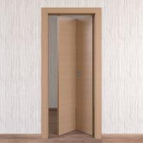 Porta da interno pieghevole Sheraton rovere naturale 80 x H 210 cm dx