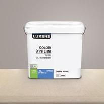 Idropittura lavabile Mano unica Marrone Talpa 3 - 4 L Luxens