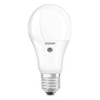 Lampadina LED Osram Star Daylight Sensore E27 =75W goccia luce calda 200°