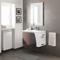 Mobile bagno Soft grigio L 80,5 cm