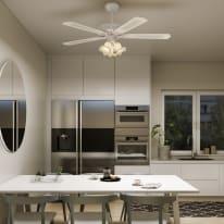 Ventilatore da soffitto con luce Bahamas