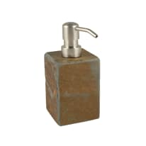 Dispenser sapone Heavy Rock marrone