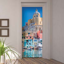 Sticker Door Cover Procida