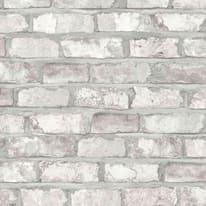Carta da parati Mattoni bianco 10 m