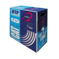 Cavo multipolare UTP Qubix 0,51 mm blu, matassa 305 m