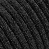 Cavo tessile nero