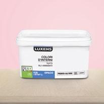 Idropittura lavabile Mano unica Rosa Blush 5 - 2,5 L Luxens