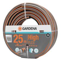 Tubo per irrigazione magliato a spirale Gardena HighFLEX 25m