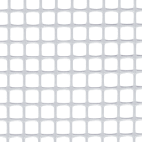 Rete Quadra 10 H 1 x L 5 m bianco