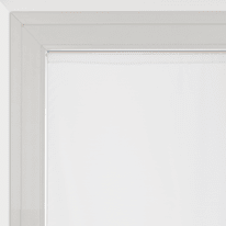 Tendina a vetro per finestra Siria bianco 90 x 160 cm
