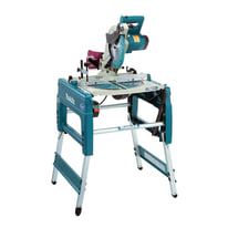 Banco sega Makita LF1000 convertibile in troncatrice