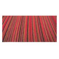 Tappetino cucina antiscivolo Deco stripes rosso 53 x 130 cm