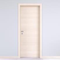 Porta da interno battente Lucad Grano 60 x H 210 cm reversibile