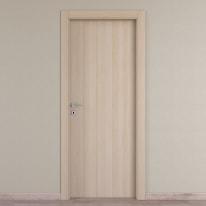 Porta da interno battente Young bianco oak 60 x H 210 cm reversibile