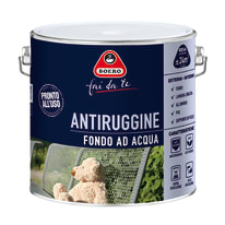 Fondo antiruggine Boero Ad acqua grigio 2 L
