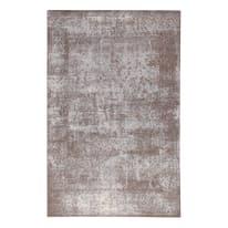 Tappeto Velluto argento 155 x 230 cm