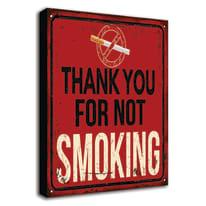 quadro su tela Smoking 24x35