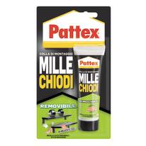 Colla di montaggio e fissaggio effetto chiodo Millechiodi removibile Pattex bianco 100 g