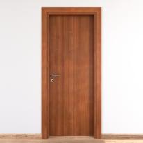 Porta per bed & breakfast battente Shatland noce biondo 70 x H 210 cm dx