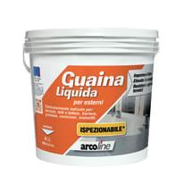 Impermeabilizzante tetti, terrazze, coperture Guaina Liquida trasparente 4 L