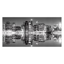 quadro su tela Ny skyline 80x180