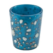 Bicchiere Antille azzurro