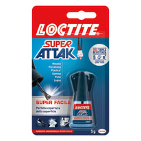 Colla istantanea super facile Super Attak 5 g