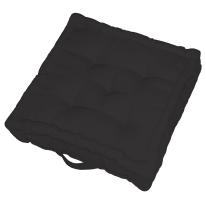 Cuscino da pavimento Elema Inspire nero 40 x 40 cm