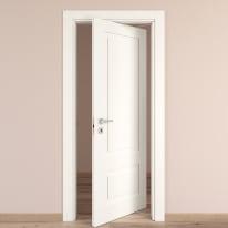 Porta da interno rototraslante Shibuya Bianco 70 x H 210 cm dx