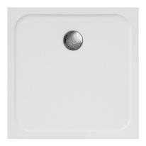 Piatto doccia resina Easy 80 x 80 cm bianco