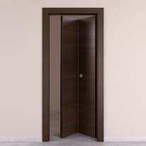 Porta da interno pieghevole Timber Fumo 70 x H 210 cm dx