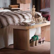 Panca legno L 120 x P 30 x H 45 cm grezzo