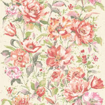 Carta da parati FIORE rosa 10 m