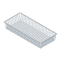 Ripiano contenitore Element System grigio L 80 x P 35 cm