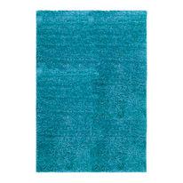 Tappeto Curly azzurro 120 x 170 cm