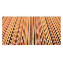 Tappetino cucina antiscivolo Deco stripes arancione 53 x 130 cm