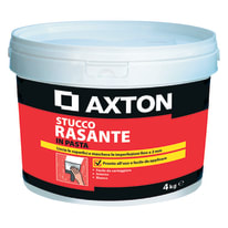 Stucco in pasta Axton Rasante liscio bianco 4 kg