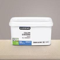 Idropittura lavabile Mano unica Marrone Talpa 3 - 2,5 L Luxens