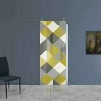 Porta da interno scorrevole Carpet 5/binario Ermes 88 x H 215 cm sx