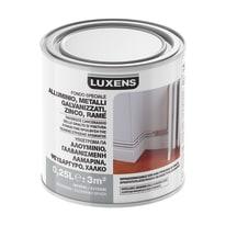 Fondo Luxens per alluminio galvanizzato e lamiere zincate grigio 0,25 L