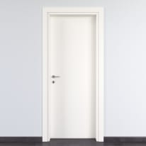 Porta per bed & breakfast battente Glasgow bianco 60 x H 210 cm dx
