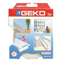 Nastro antiscivolo Geko trasparente 5 m x 25 mm