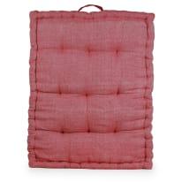 Cuscino da pavimento Toscana rosso 60 x 80 cm